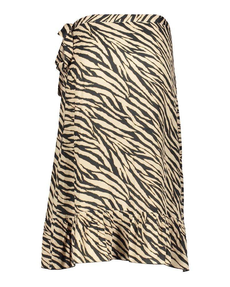 GEISHA 06118-20 Skirt wrap with ruffle 000999