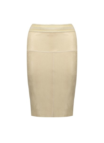 GEISHA 06004-10 Skirt suedine snake 000720