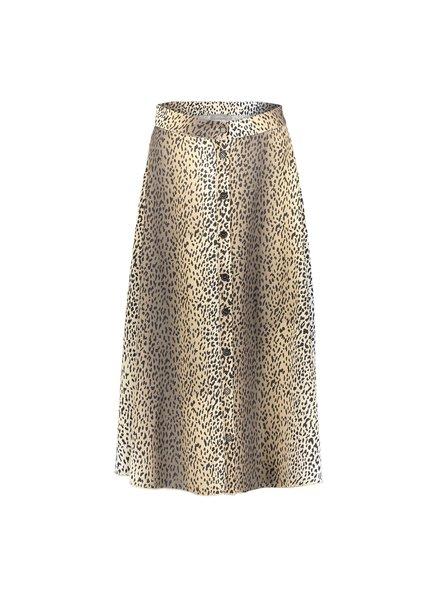 GEISHA 06020-24 Skirt AOP leopard button closure 000720