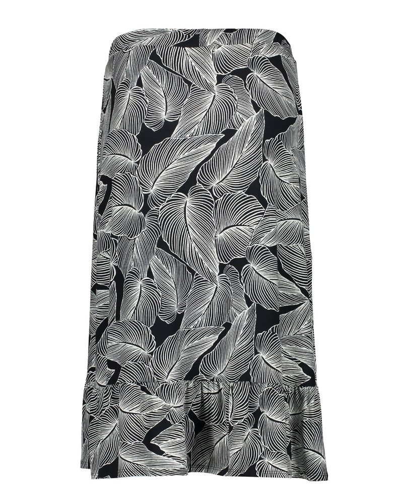 GEISHA 06046-60 ROSE Skirt wrap AOP jersey 000911