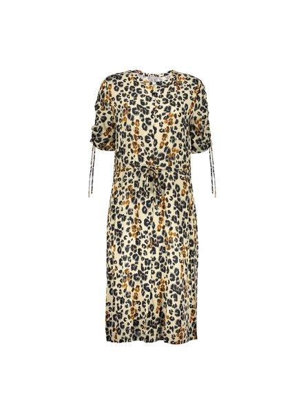 GEISHA 07051-42 Dress AOP leopard & straps s/s 000715