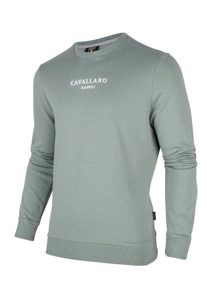 CAVALLARO 2001004 Paolo logo sweat 52000