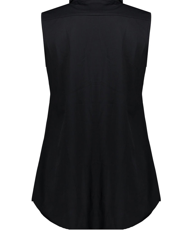 GEISHA 03180-20 Top with collar sleeveless 000675