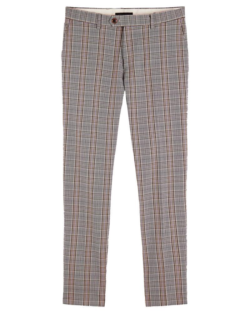 Scotch&Soda 155050 MOTT-Classic chino in yarn-dyed pattern 0222