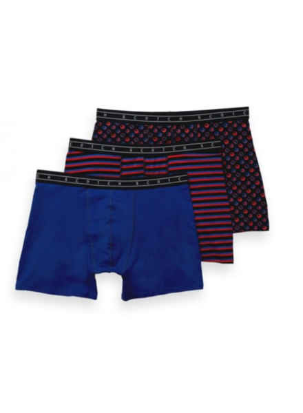 Scotch&Soda 154432 Classic boxer short in prints and solids 0218