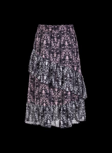 MILLA AMSTERDAM MSS200018.69 Raffi skirt aop print mix