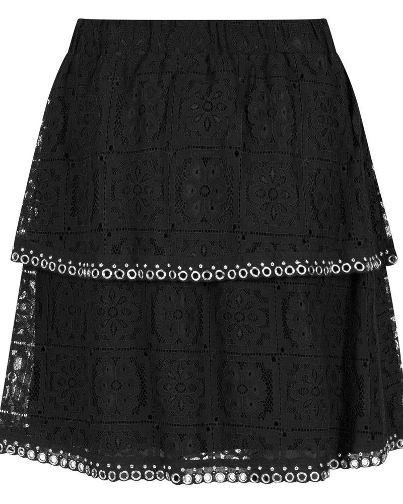 MILLA AMSTERDAM MSS200015.5 Romy skirt black