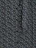 FREEBIRD Harper maxi dress long sleeve black green