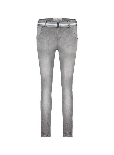 BIANCO 1118406-Azurite gray boyfriend gray denim