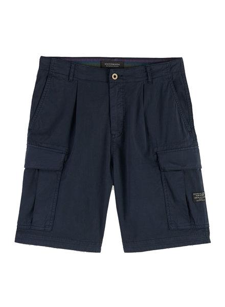 Scotch&Soda 155094 long length -Garment-dyed cargo short 0004
