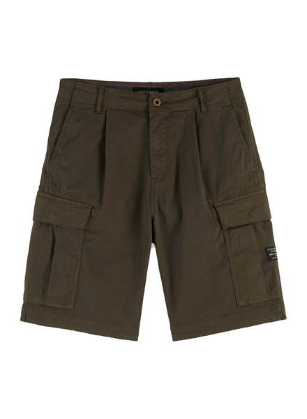 Scotch&Soda 155094 long length -Garment-dyed cargo short 0115