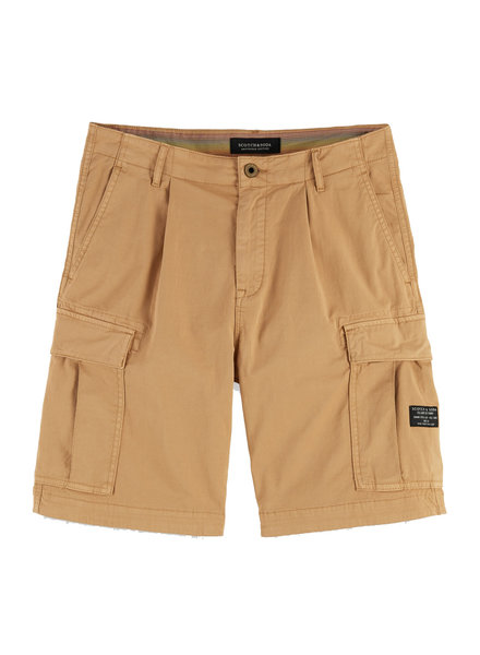Scotch&Soda 155094 long length -Garment-dyed cargo short 0768