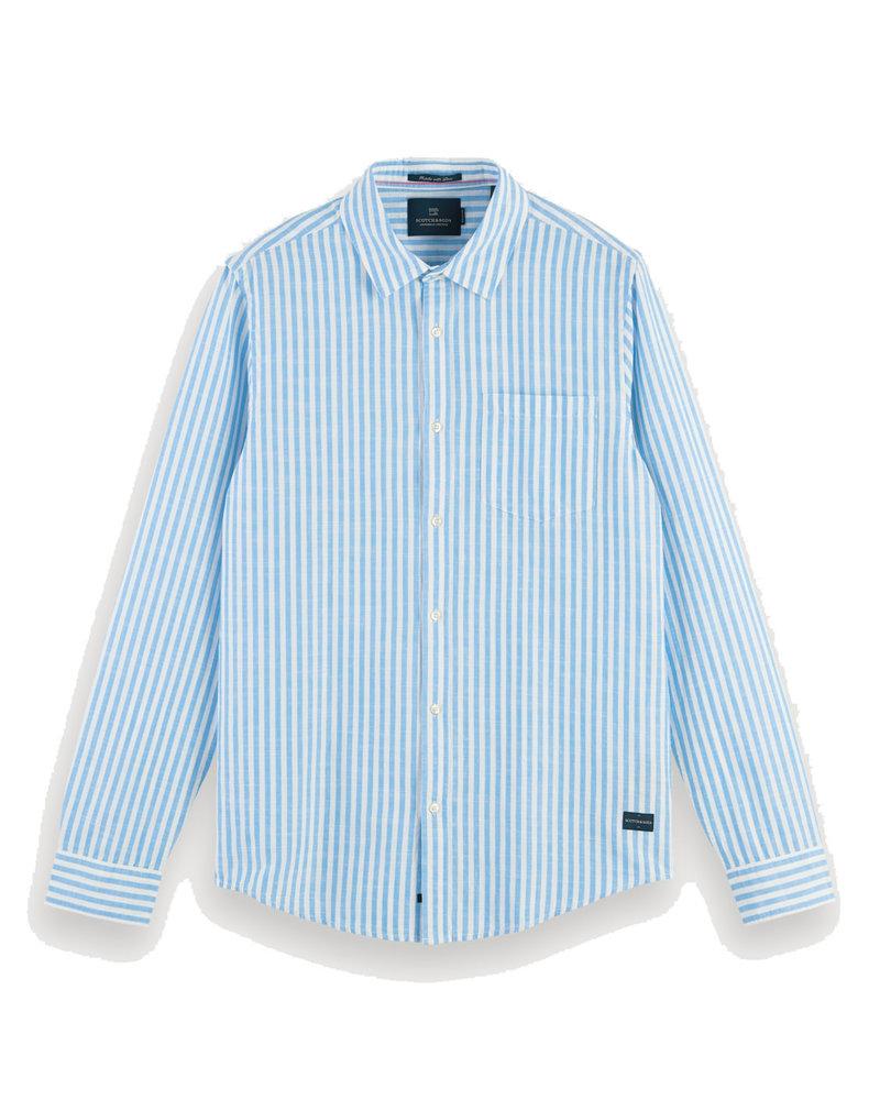 Scotch&Soda 155142 Regular fit- Classic striped shirt 0217