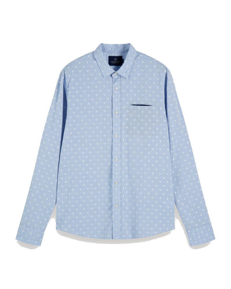 Scotch&Soda 155168 Regular fit- Chic pochet shirt 0218