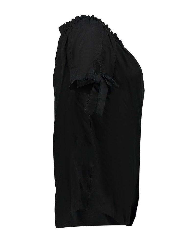 GEISHA 03288-70 Top elastic shoulder & bows s/s 000999
