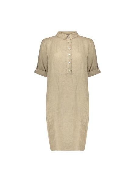 GEISHA 07188-70 Dress linen l/s 000720