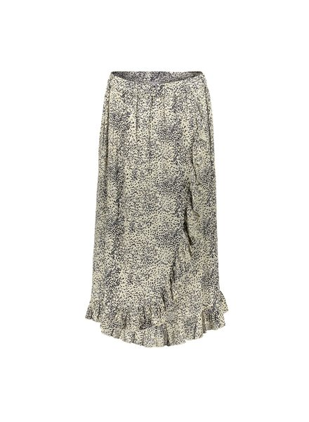 GEISHA 06030-85 Skirt AOP leopard with ruffles 000715