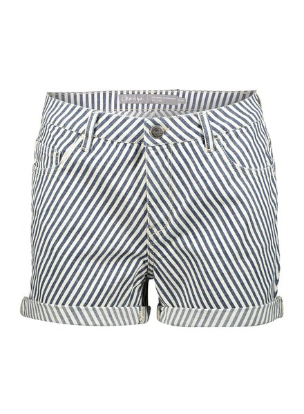 GEISHA 01056-47 5-pockets shorts bias stripes 000675