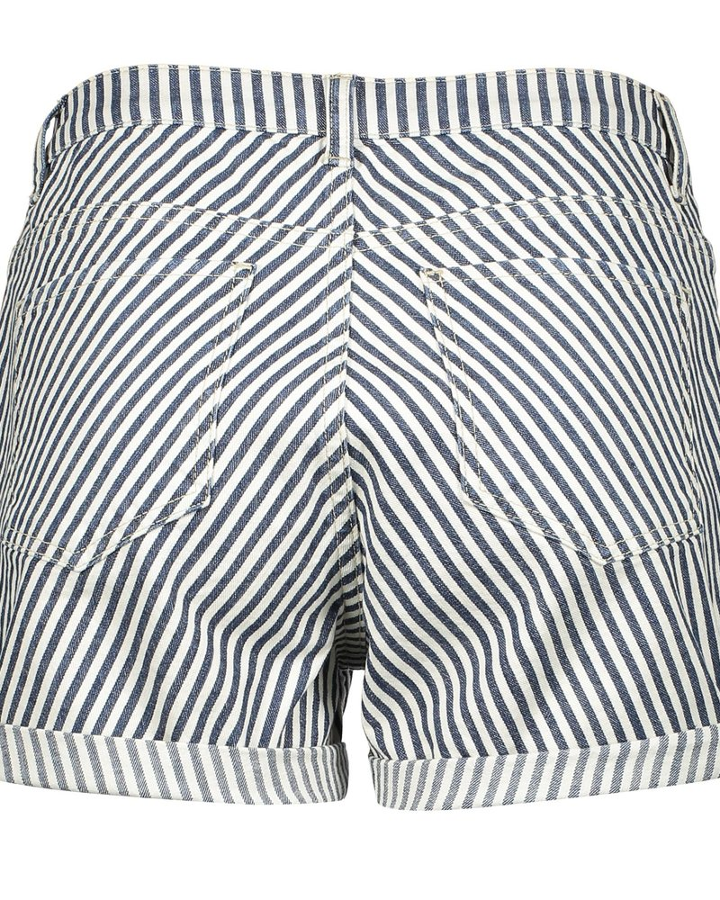 GEISHA 01056-47 5-pockets shorts bias stripes 000675