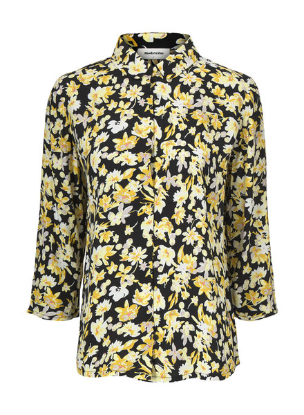 MODSTRÖM 55019 Casey print shirt, shirt 11774 sunshine bloom