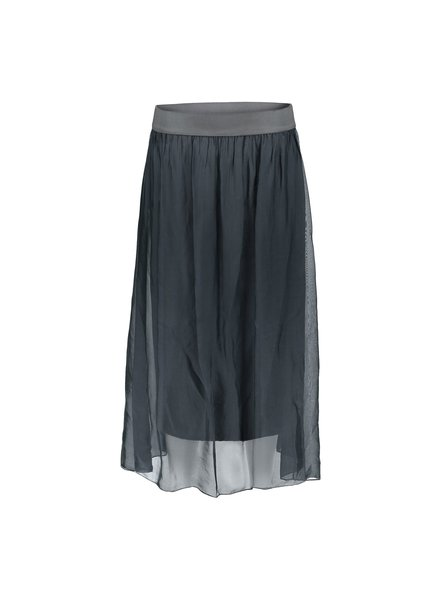 GEISHA 06051-70 Skirt silk with elastic waist 000950