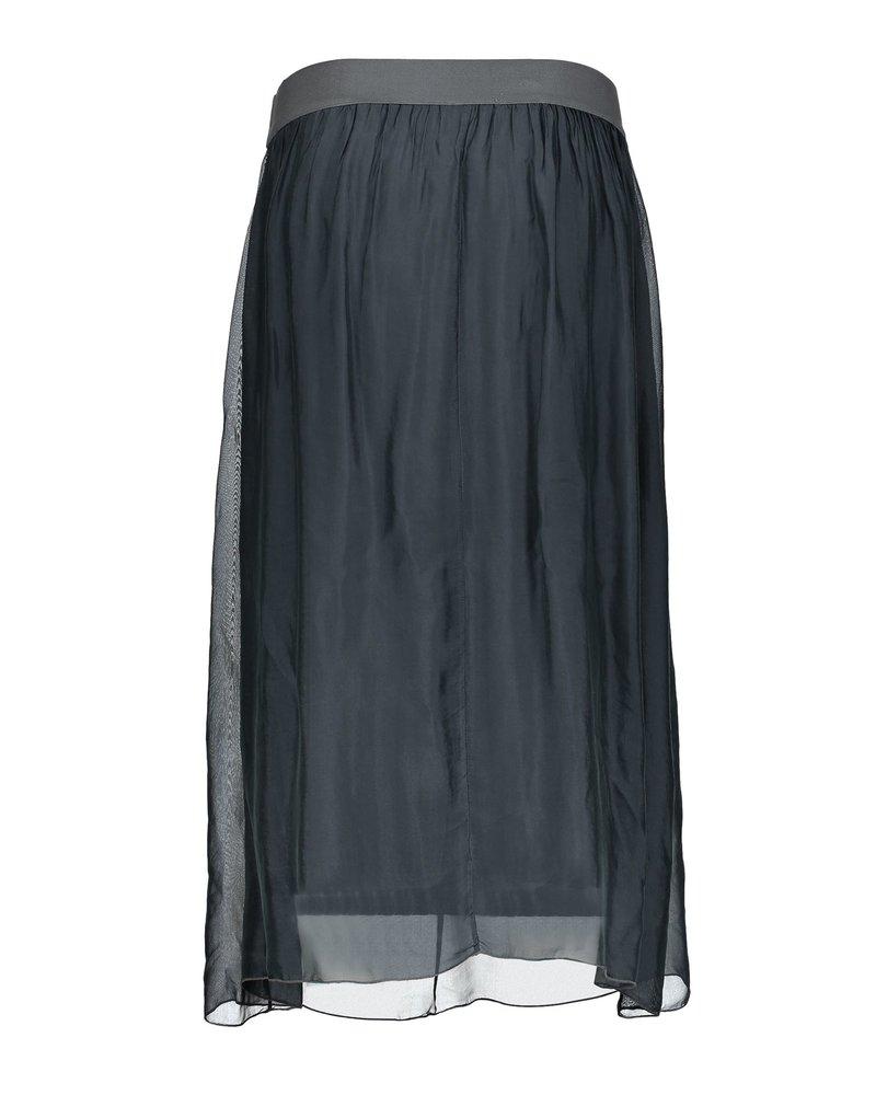 GEISHA 06051-70 Skirt silk with elastic waist 000950