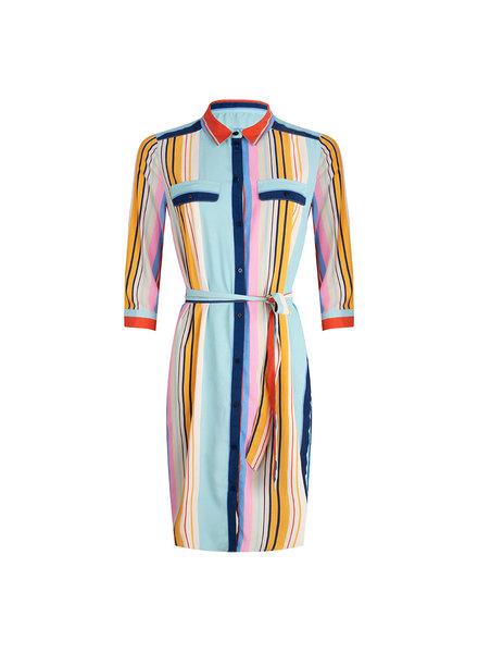 ESQUALO HS20.16226 Dress striped print