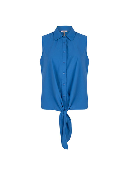 ESQUALO HS20.05211 Blouse traveller knot blue