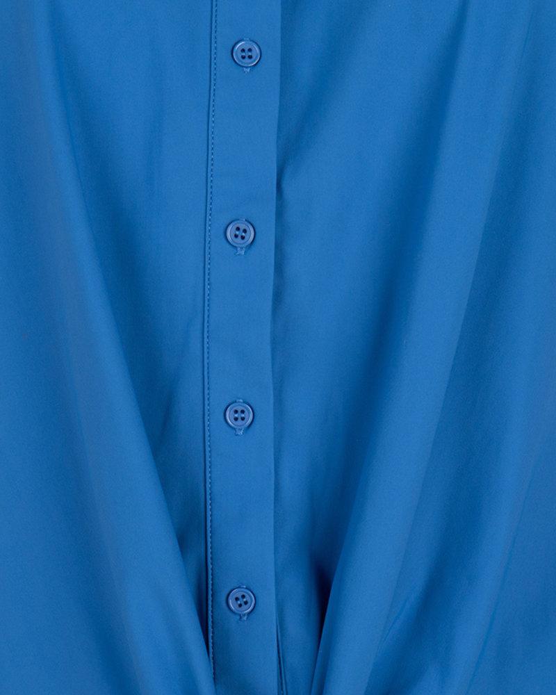 ESQUALO HS20.05211 Blouse traveller knot blue