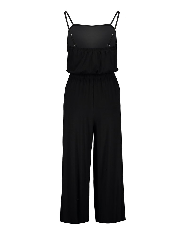 GEISHA 01420-60 Tess solid jumpsuit culotte solid black