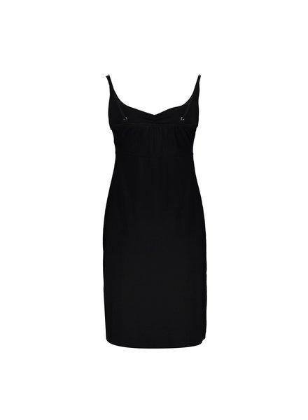GEISHA 07364-60 Noa solid dress spaghetti solid black