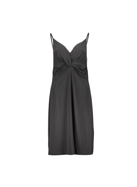 GEISHA 07450-44 Dress spaghetti solid travel anthracite