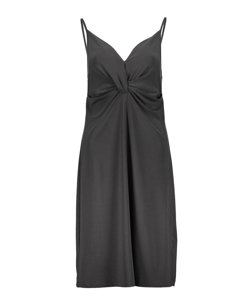GEISHA 07450-44 Dress spaghetti solid travel anthracite