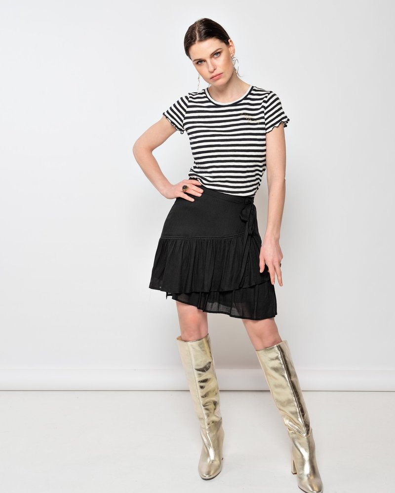 MILLA AMSTERDAM MSH201037.5 Rylie skirt black