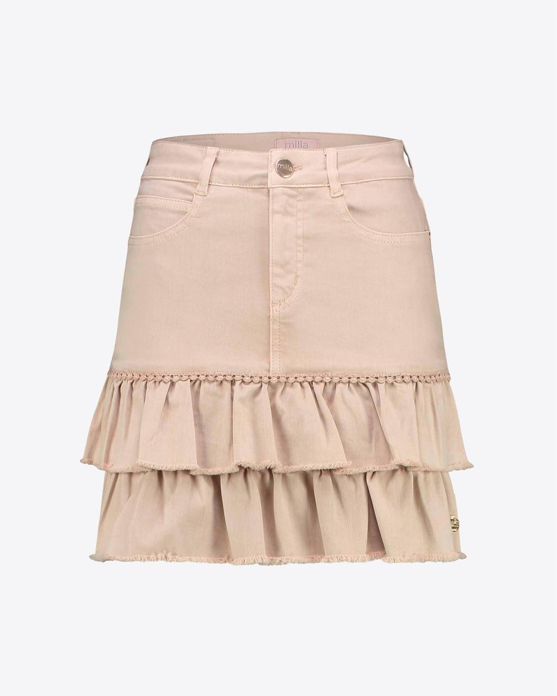 MILLA AMSTERDAM MHS201034.4 Rosie skirt sand