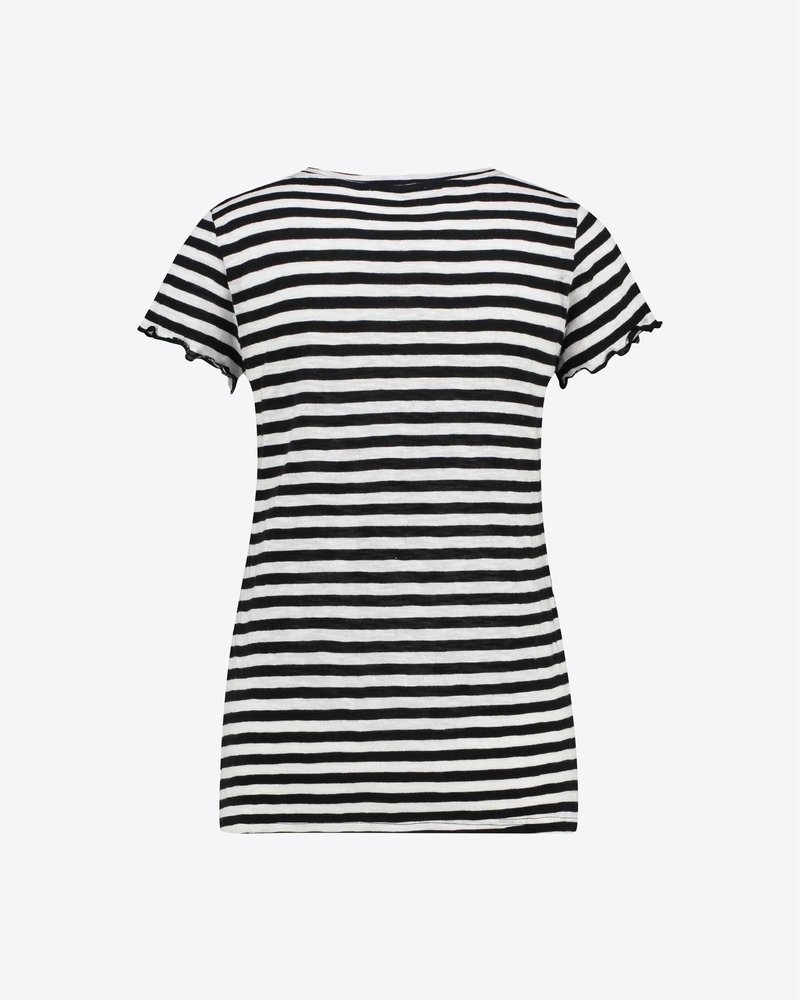 MILLA AMSTERDAM MHS201019.20 Ties t-shirt black white