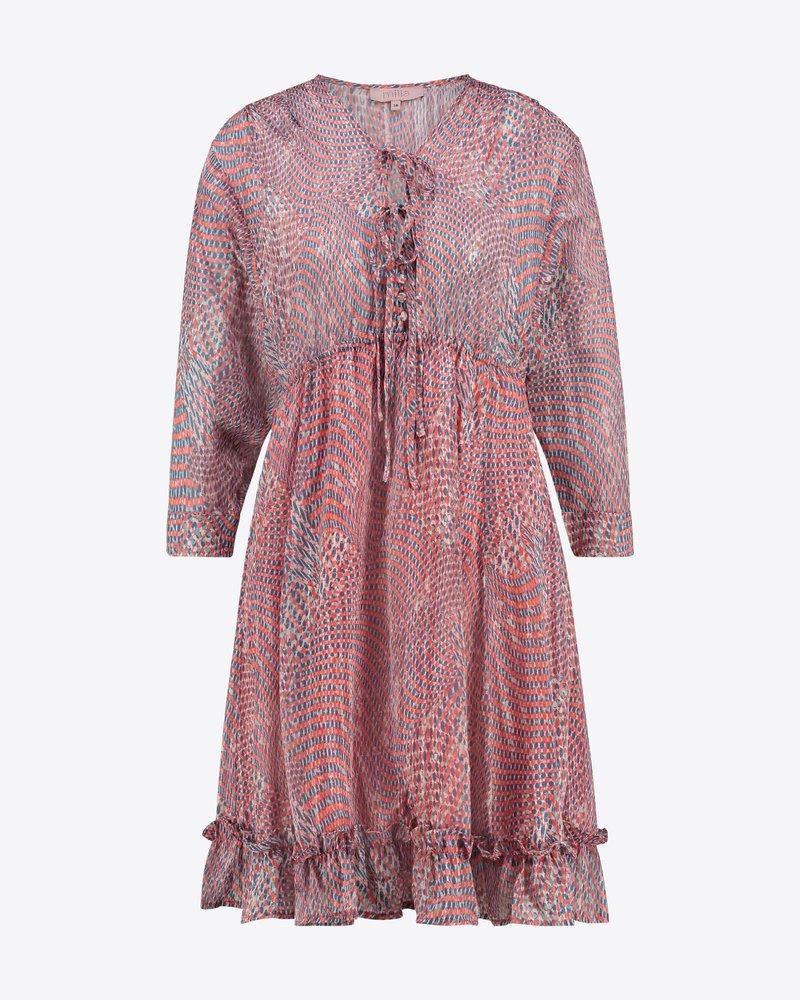 MILLA AMSTERDAM MHS201014.69 Do dress coral print