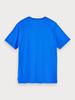 Scotch&Soda 156809 Basic blauw tee 3625
