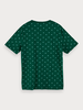 Scotch&Soda 159387 Short sleeve tee with allover print 0222