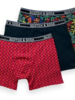 Scotch&Soda 154430 Classic boxer short with printed waistband 0217