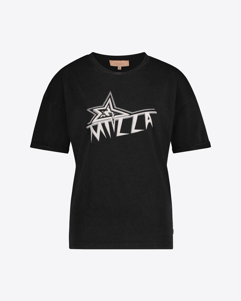 MILLA AMSTERDAM TORI T-SHIRT MED209002.16.34 ANTHRACITE