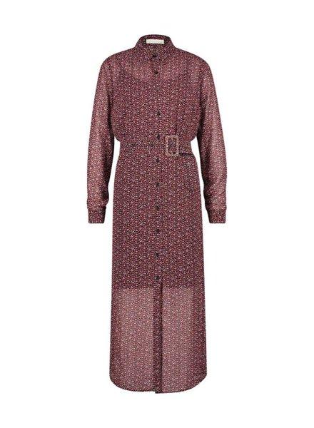 FREEBIRD Harper belt-purple midi dress long sleeve mini-flower-pes-04