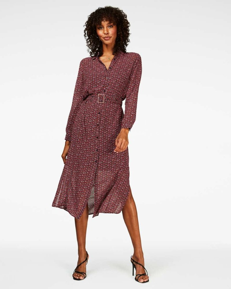 FREEBIRD Harper belt-purple midi dress long sleeve mini-flower-pes-04