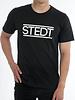 STEDT T-SHIRT MEN STEDT 001 BLACK