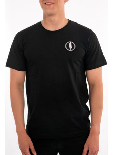 STEDT T-SHIRT MEN LOGO 003 BLACK