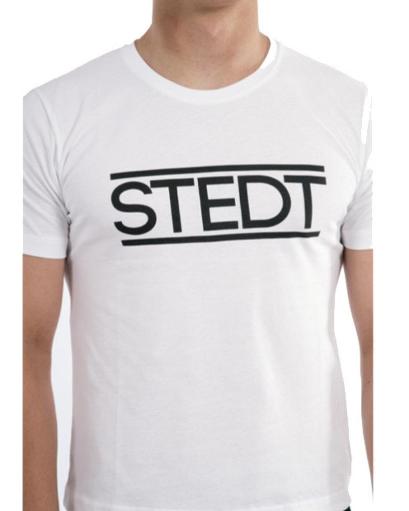 STEDT T-SHIRT MEN STEDT 002 WHITE