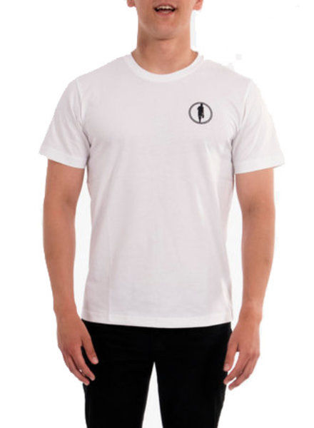 STEDT T-SHIRT MEN LOGO 004 WHITE