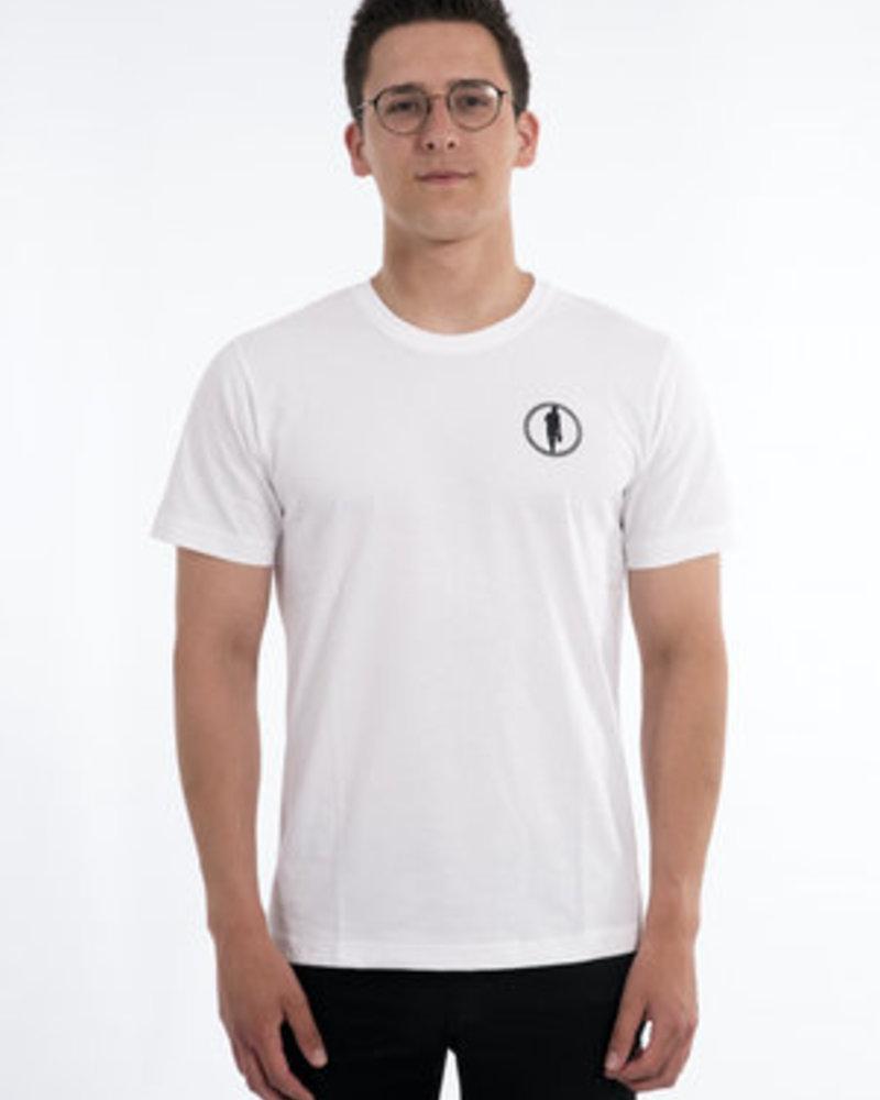 STEDT T-SHIRT MEN LOGO 004 WHITE
