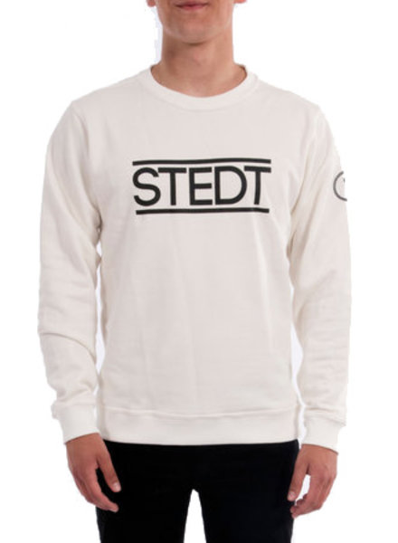 STEDT SWEATSHIRT STEDT 010 OFF WHITE