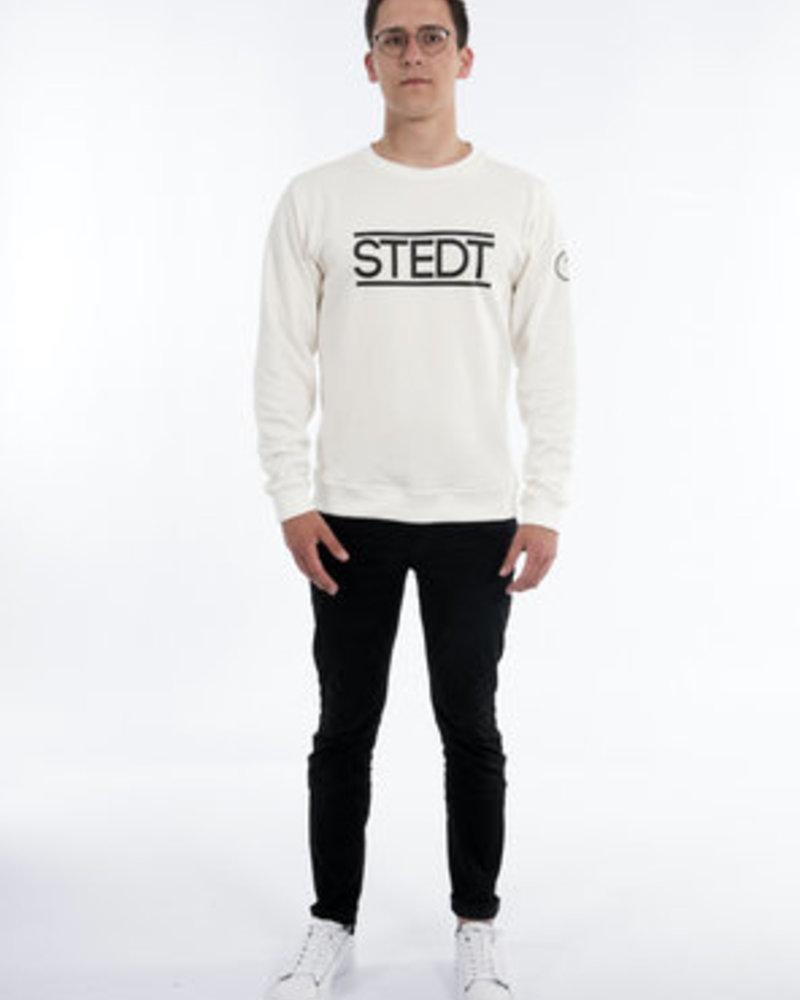 STEDT SWEATSHIRT STEDT 010 OFF WHITE